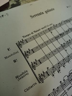 「優美なセレナータ」楽譜