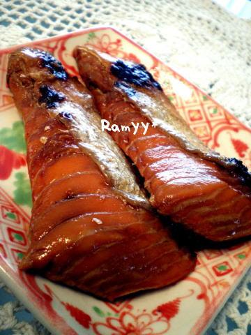 鮭の醤油漬け