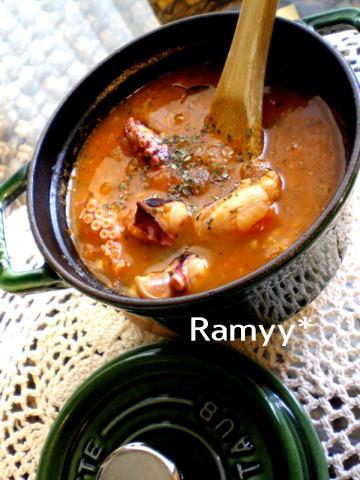 蛸のトマトスープ