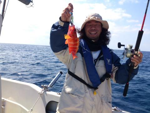 ルカン礁 五目釣り