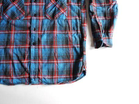 60's フランネルシャツ