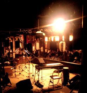 滋賀県の石山寺での仲秋の名月ライブ