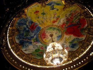 シャガールによるパリのオペラ座の天井画