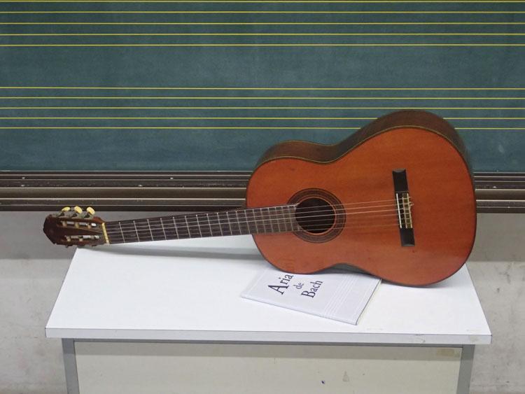 総合的キュビスム_ギターのレッスン
