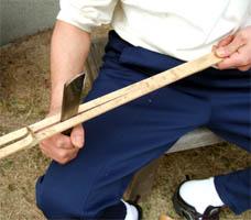 竹を割るー4