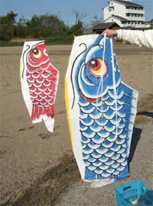 親子鯉のぼり01