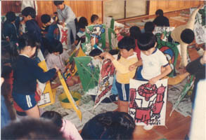 凧作り教室2