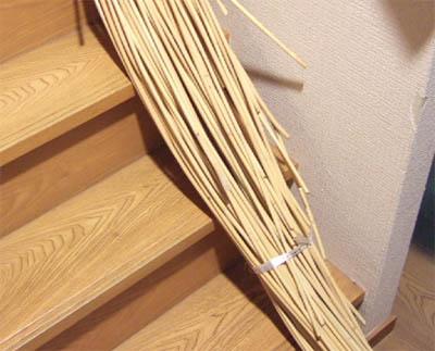 原籐(籐の原木)