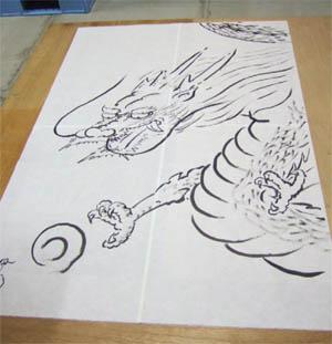 大きな凧ー龍