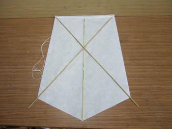 角凧の変形