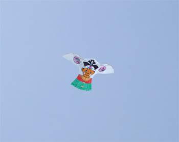 桃太郎の鳥凧
