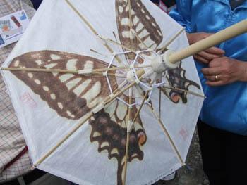 傘の風箪の構造