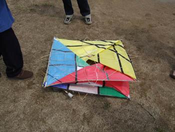 立方体の凧2