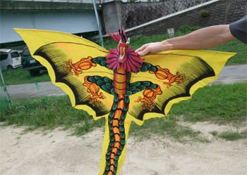 バリ島のドラゴンカイト