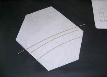 簡単六角凧の材料