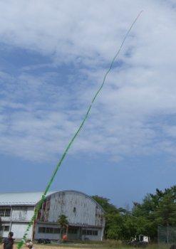 24時間テレビ連凧テスト