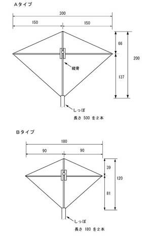 連凧の図面