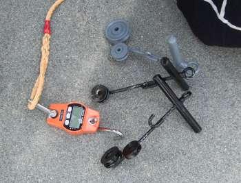連凧を揚げる冶具