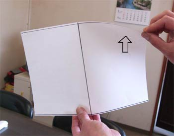 六角凧に作用する力