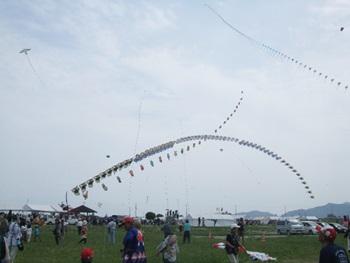 アーチカイトと連凧