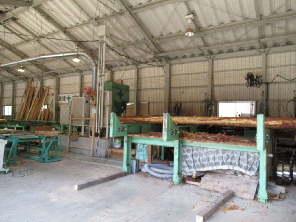 十津川村森林組合 木材加工流通センター