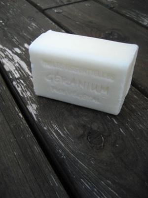 ゼラニウムソープ