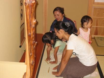親子教室20100910