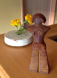 縄文の女神ミニチュア