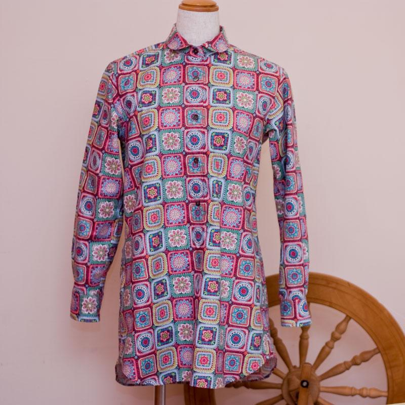 ロングシャツ1