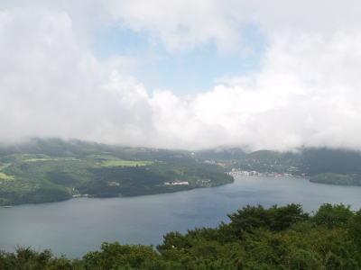 場所を変えて芦ノ湖(ノ・ω・)ノ