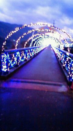 吉野川パーキングエリアの歩道橋