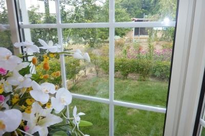 9月の窓辺