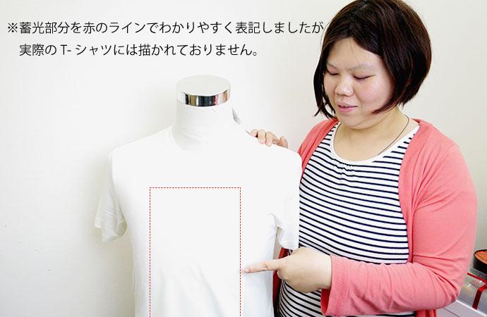 新感覚  遊べる Tシャツ ブラックライト 注目