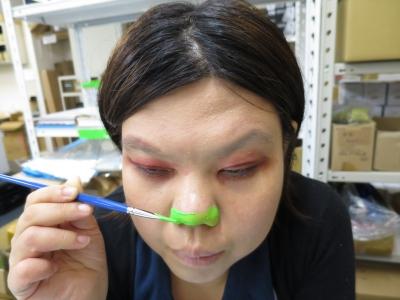 ハロウィン 猫 メイク 鼻