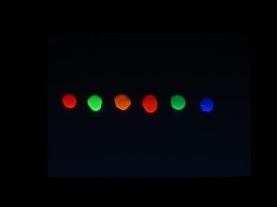 アメリカーナネオン ブラックライト 照射