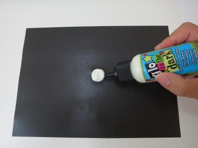 蓄光 塗料 検証