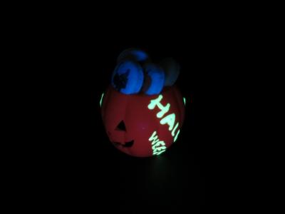グローインザダークライター 暗闇の中で光る�