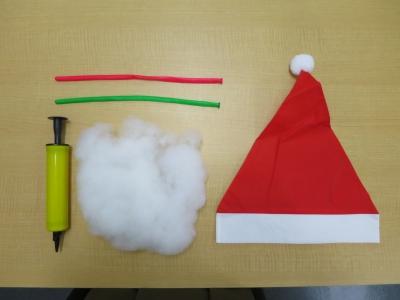 ネオバルーン クリスマス グッズ  用意するもの