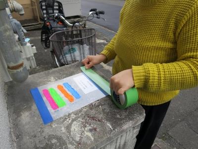 ボディペイント 耐水性検証 実験内容