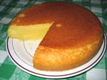 ホットケーキミックスで作ったケーキ