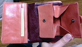 アルベロ 2つ折り財布