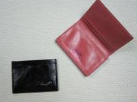 マリオネット・ジョンソン、財布、カードケース