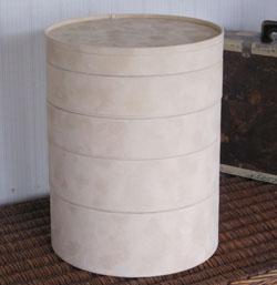 円柱型ディスプレイケース