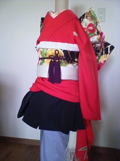 紅葉の衣装1