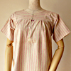 FG153 1920年代ドイツ製ピンクストライプドレス