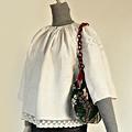TG115 1910年代ウクライナwhite on white刺繍ブラウス