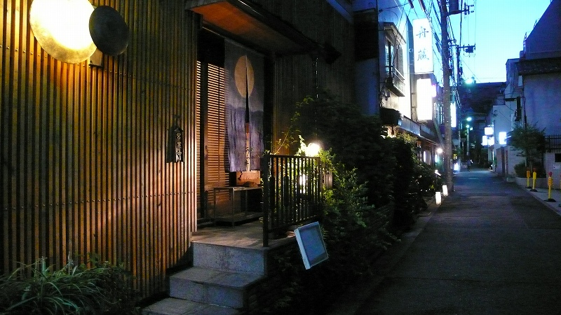 神楽坂(夏)