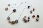 19 2009 STONE necklace bracelet ring pierced earrings brooch pin