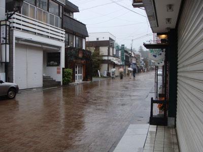 karuizawa 軽井沢 台風