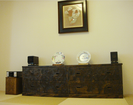 軽井沢彫りの隠れたショーローム
